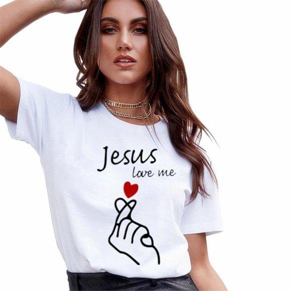 2021 New Summer  T Shirt Women Casual White Tops